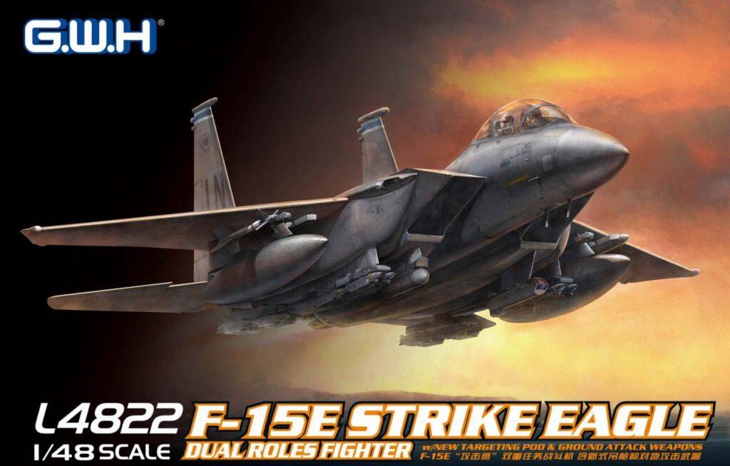 L4822 1/48 アメリカ空軍 F-15E 戦闘爆撃機
