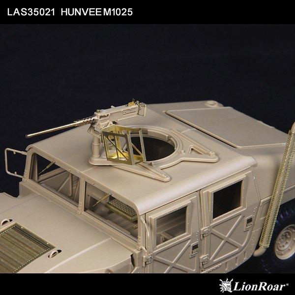 LAS3521 1/35 アメリカ陸軍 ハンヴィーM1025用ディテールアップパーツセット