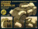 LE35109 1/35 WWII イギリス陸軍 スタッグハウンド装甲車 対空型用 エッチングパーツ