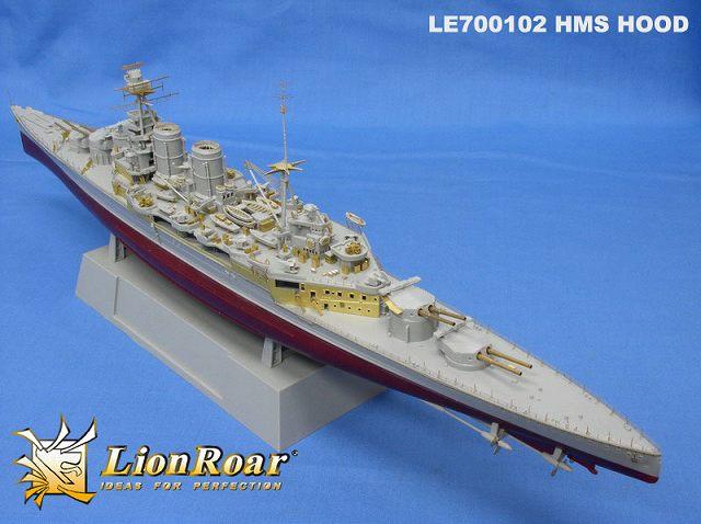 LE70102 1/700 イギリス海軍 巡洋戦艦 フッド1931/1941用 エッチングパーツ