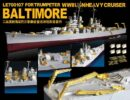 LE70107 1/700 WWII アメリカ海軍 重巡洋艦 ボルティモア(TR社)用 エッチングパーツ