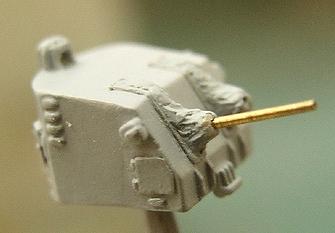 LE7083 1/700 WWII アメリカ海軍 5インチ砲 (駆逐艦用)