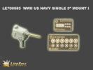 LE7085 1/700 WWII アメリカ海軍 5インチ単装砲 1