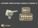 LE7086 1/700 WWII アメリカ海軍 5インチ単装砲 2