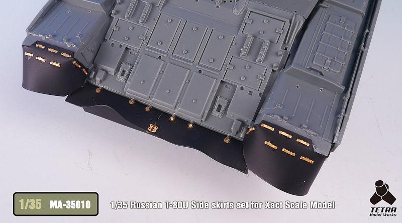 MA3510 1/35 ロシア陸軍 T-80U 戦車(XA社)用 サイドスカートセット
