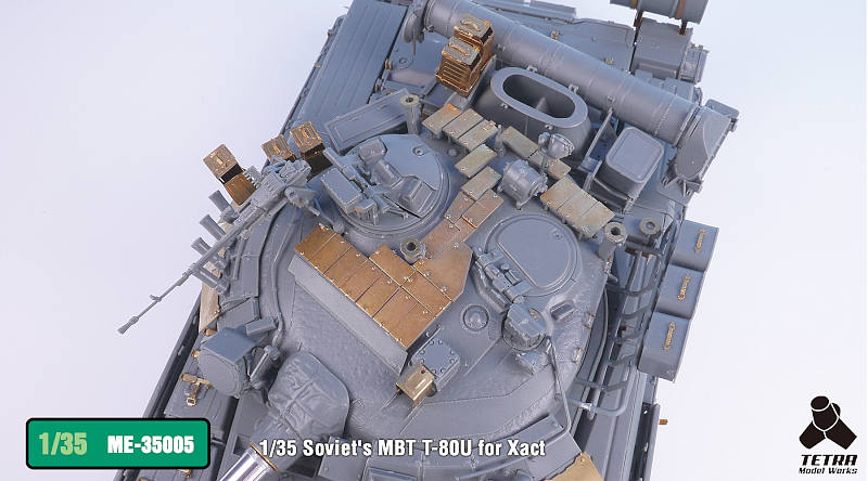 ME3505 1/35 ロシア陸軍 T-80U 戦車(XA社)用 エッチングパーツ