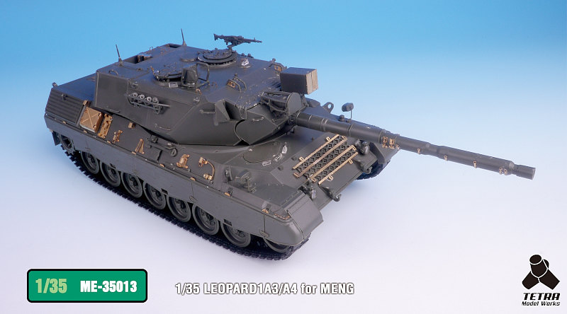 ME3513 1/35 ドイツ陸軍 レオパルド1A3/A4 戦車(MEN社)用 エッチングパーツ