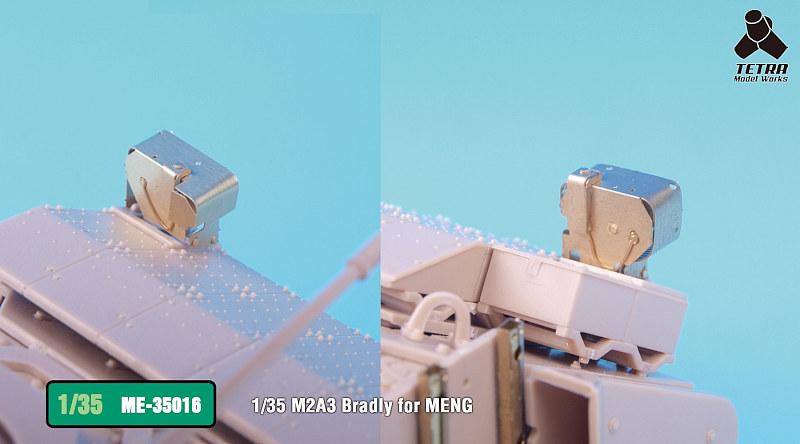 ME3516 1/35 アメリカ陸軍 M2A3 ブラッドレー 歩兵戦闘車(MEN社)用 エッチングパーツ