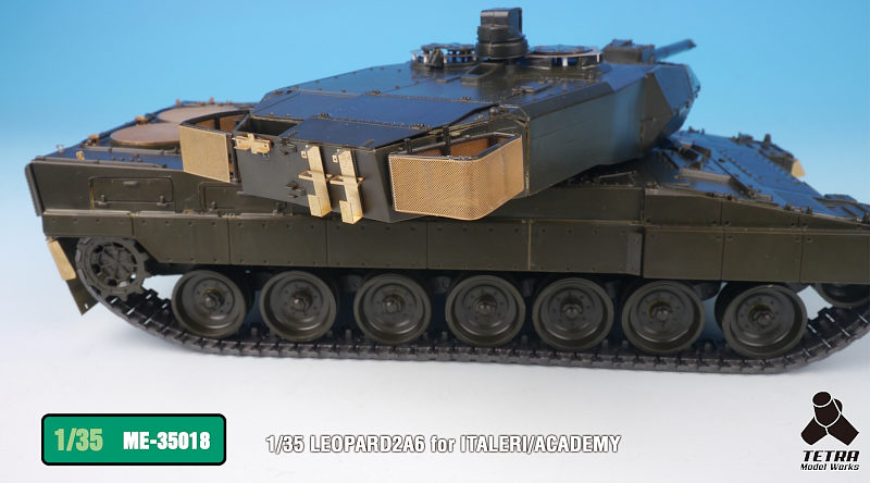 ME3518 1/35 ドイツ陸軍 レオパルド2A6 戦車(IT社)用 エッチングパーツ