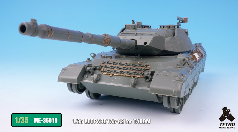 ME3519 1/35 ドイツ陸軍 レオパルド1A5/C2 戦車(TA社)用 エッチングパーツ