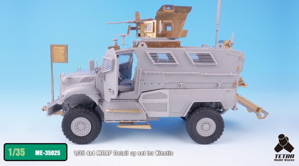 ME3525 1/35 アメリカ陸軍 マックスプロ 4×4 MRAP(KI社)用 エッチングパーツ