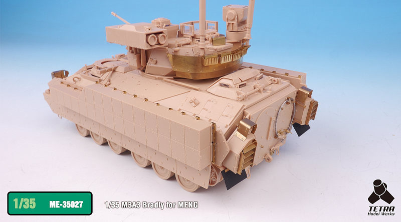 ME3527 1/35 アメリカ陸軍 M3A3 ブラッドレー 騎兵戦闘車(MEN社)用 エッチングパーツ