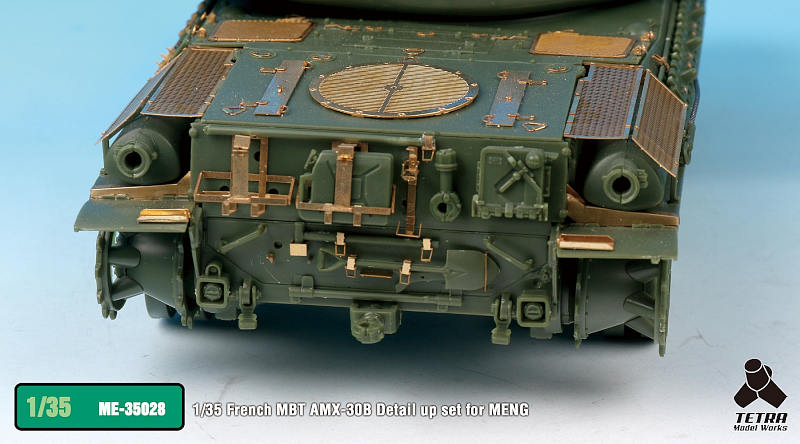 ME3528 1/35 フランス陸軍 AMX-30B 戦車(MEN社)用 エッチングパーツ