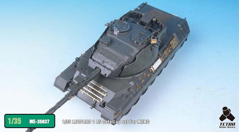 ME3537 1/35 ドイツ陸軍 レオパルド1A5 戦車(MEN社)用 エッチングパーツ