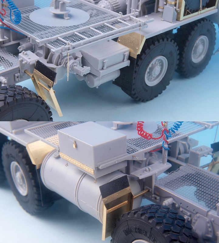 ME3541 1/35 アメリカ陸軍 HEMTT M983 トラクター(TR社)用 ディテールアップパーツセット