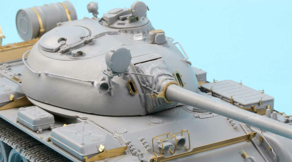 ME3553 1/35 ロシア陸軍 T-55A戦車 初期型 Mod.1965(MIN社)用 エッチングパーツ