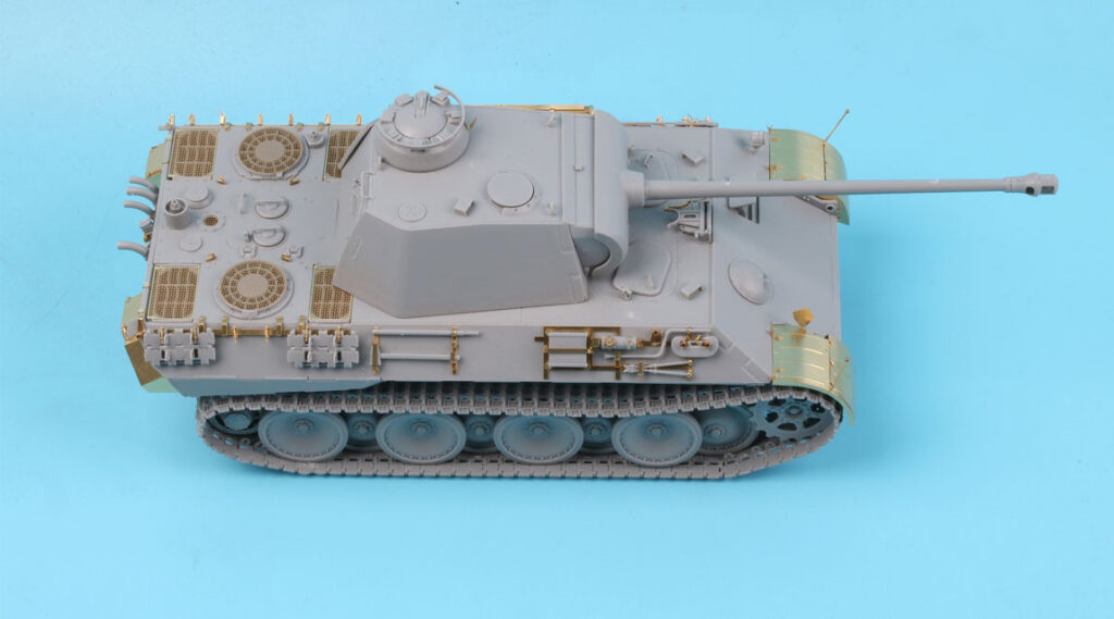 ME3557 1/35 ドイツ陸軍 パンターA型戦車(TAK社)用 エッチングパーツ