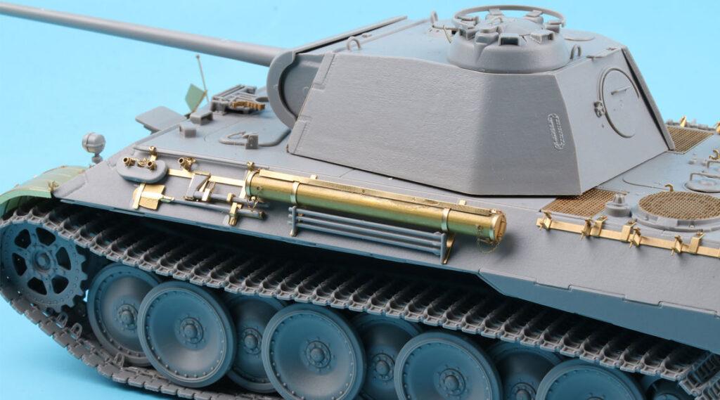 ME3558 1/35 ドイツ陸軍 パンターA型戦車(TAK社)用 エッチングパーツ サイドスカート付き