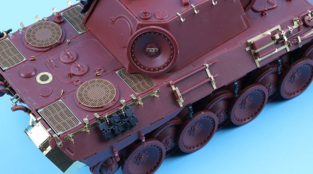 ME3559 1/35 ドイツ陸軍 パンターA型戦車(MEN社)用 エッチングパーツ