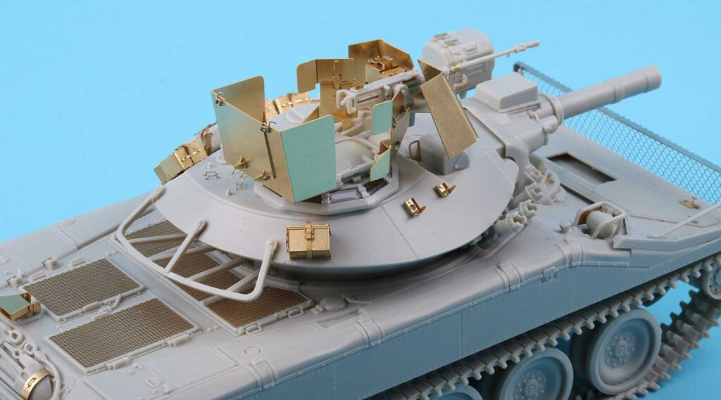 ME3560 1/35 アメリカ陸軍 M551シェリダン 空挺戦車(T社)用 エッチングパーツ