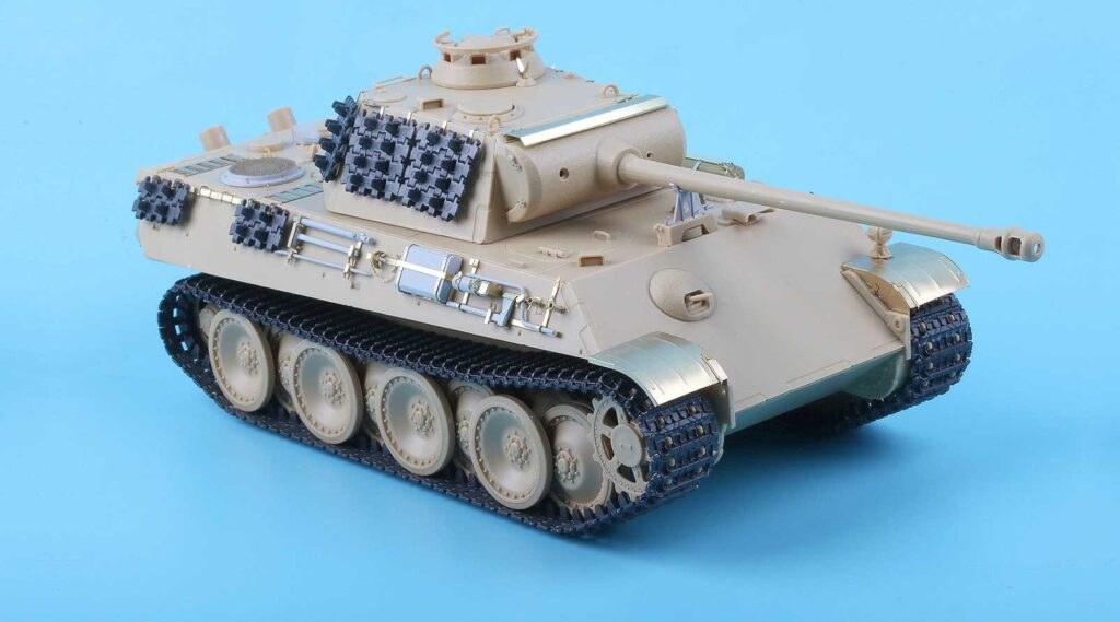 ME3561 1/35 ドイツ陸軍 パンターG型戦車(AC社)用 エッチングパーツ