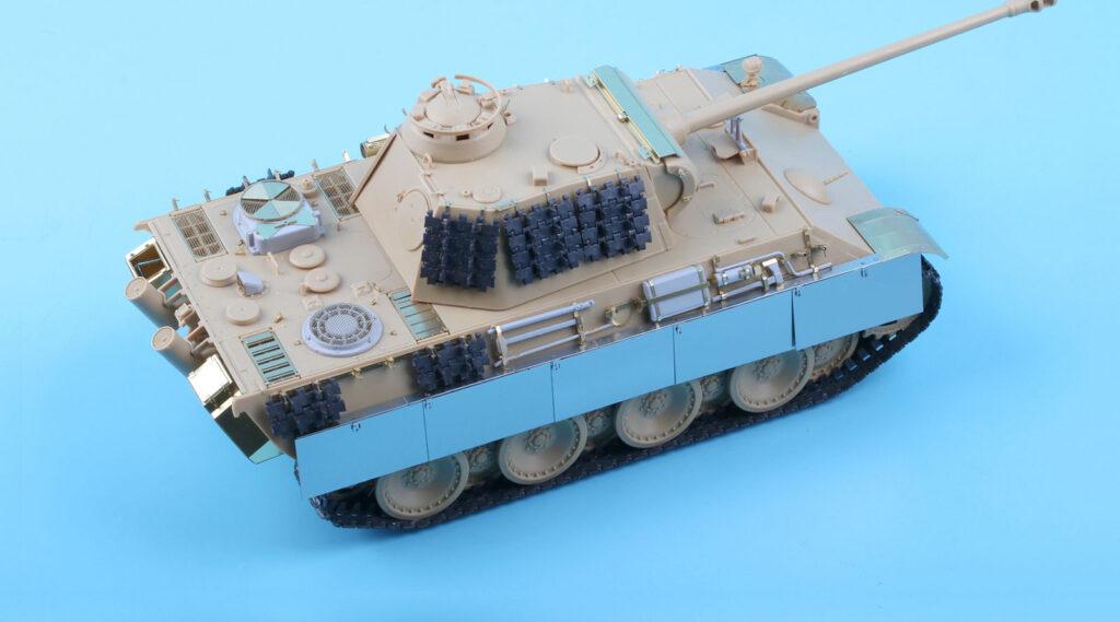 ME3562 1/35 ドイツ陸軍 パンターG型戦車(AC社)用 エッチングパーツ サイドスカート付き