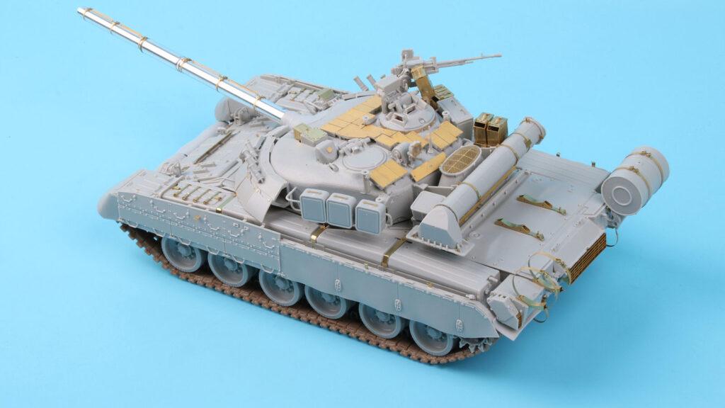 ME3563 1/35 ロシア T-80U主力戦車 (TR社)用 エッチングパーツ