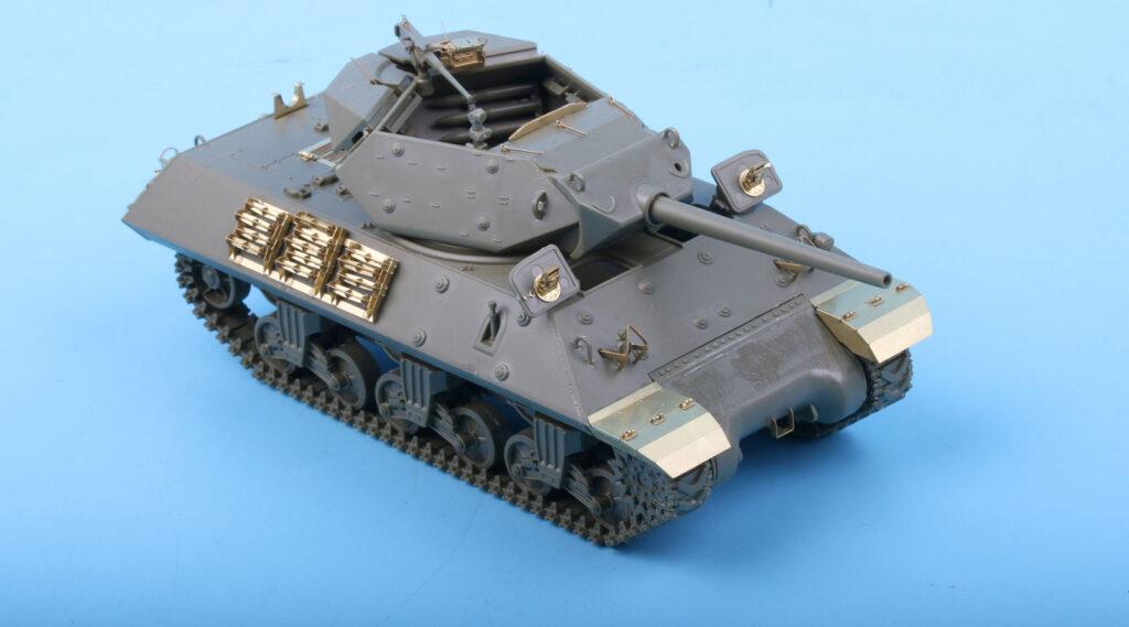 ME4803 1/48 アメリカ M10駆逐戦車 中期型(T社)用 エッチングパーツ