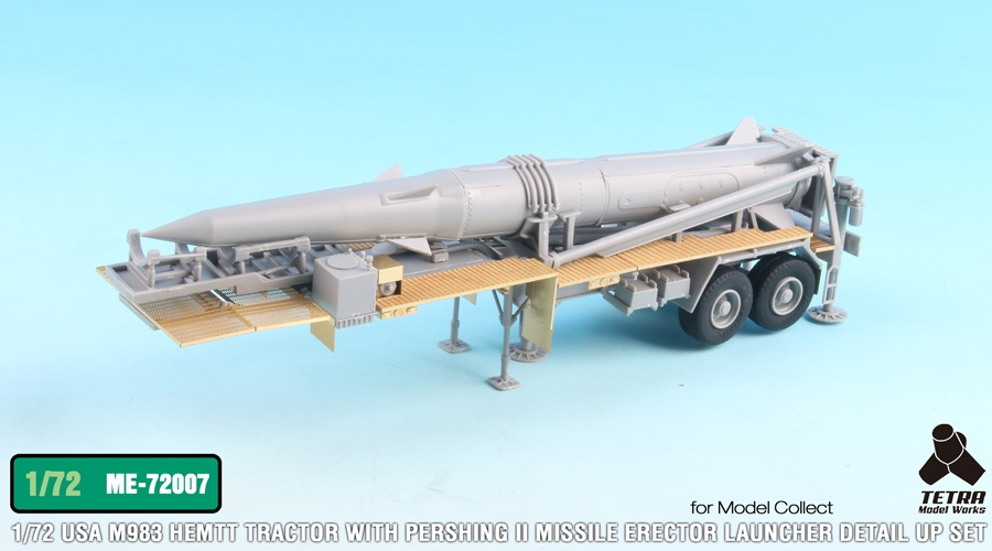 ME7207 1/72 M983 HEMTT トラクターとパーシングII ミサイルエレクターランチャー(MC社)用 エッチングパーツ