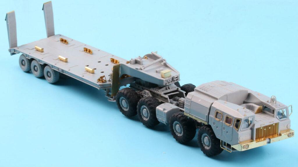 ME7209 1/72 ロシア陸軍 MAZ-7410 w/ChMZAP-9990 セミトレーラー(MC社)用 エッチングパーツ