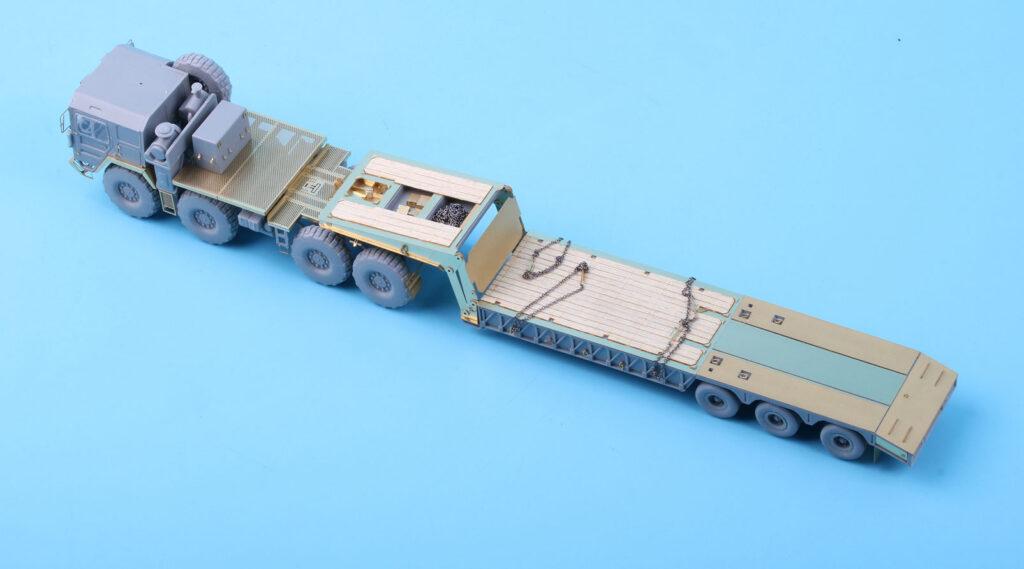 ME7212 1/72 ドイツ陸軍 KAT1 M1014 高機動オフロードトラック /w M870A1セミトレーラー(MC社)用 エッチングパーツ