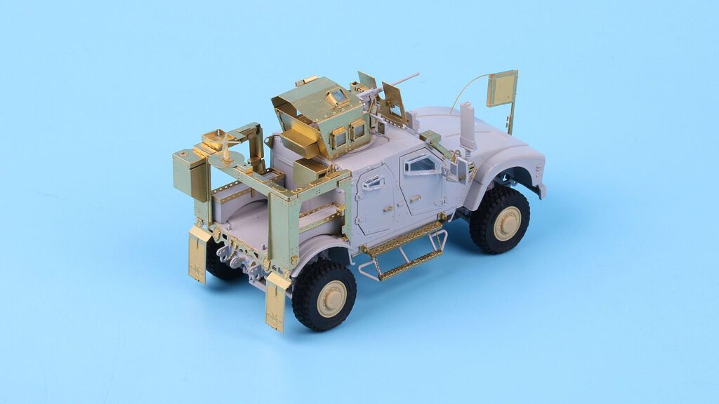 ME7213 1/72 M1240 M-ATV MRAP w/O-GPK砲塔(GH社)用 エッチングパーツ