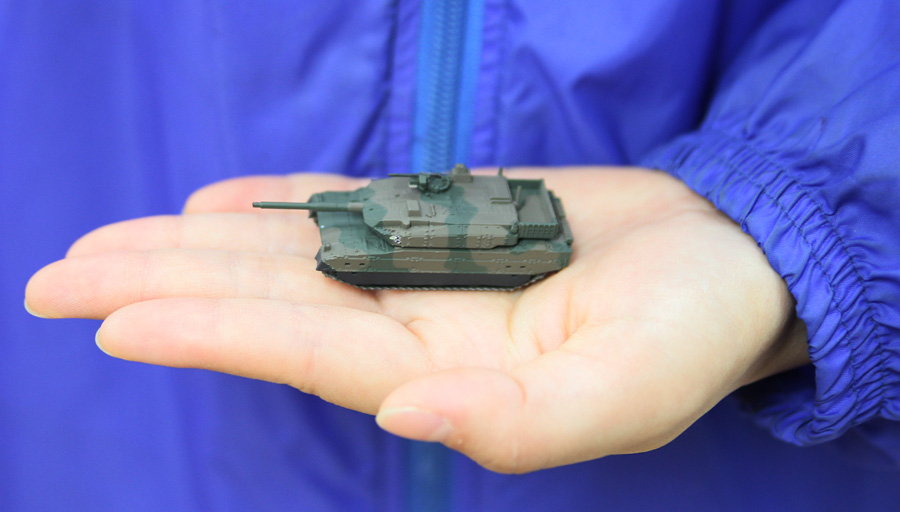 MSG01 1/144 陸上自衛隊 10式戦車 マグネット