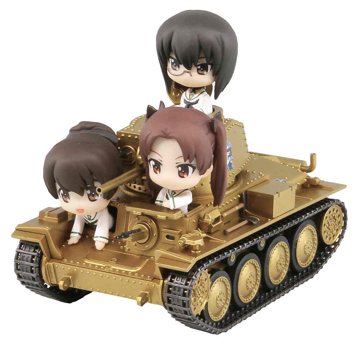 PD21SP「ガールズ&パンツァー」38(t)戦車B/C型 エンディングVer.親善試合時