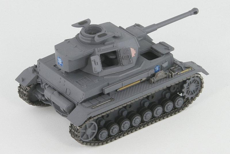 PD47「ガールズ&パンツァー」 IV号戦車D型改(F2型仕様) エンディングVer. プラモデル