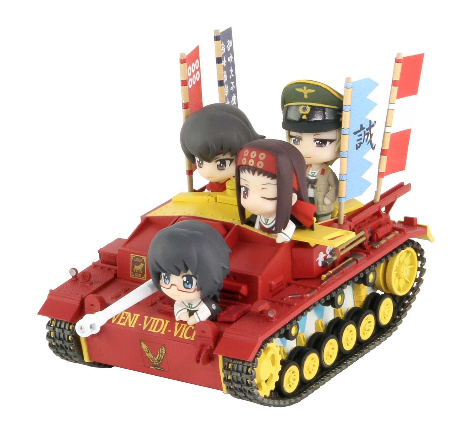 PD53「ガールズ&パンツァー」III号突撃砲F型エンディングVer.親善試合時