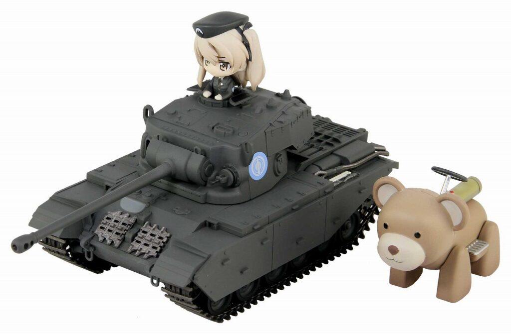 PD55「ガールズ&パンツァー劇場版」巡航戦車 A41 センチュリオン エンディングVer.DX ヴォイテク付き