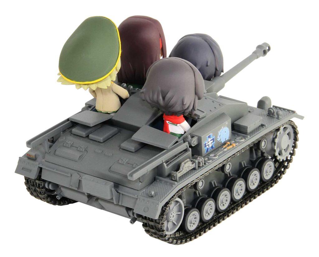 PD86「ガールズ&パンツァー」III号突撃砲 F型 エンディングVer.全国大会時 エルヴィン&カエサル アクリルフィギュア付き