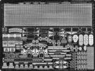 PE05 1/700 ドイツ海軍 戦艦 ビスマルク級用 エッチングパーツ