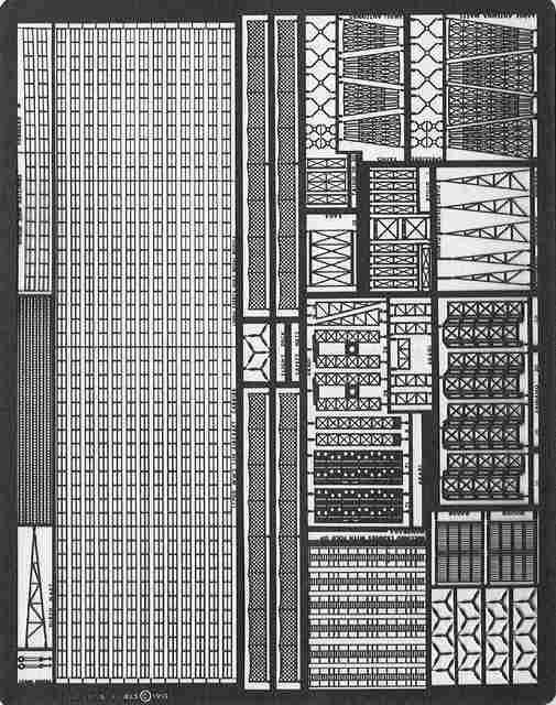 PE14 1/700 日本海軍 空母用 エッチングパーツ