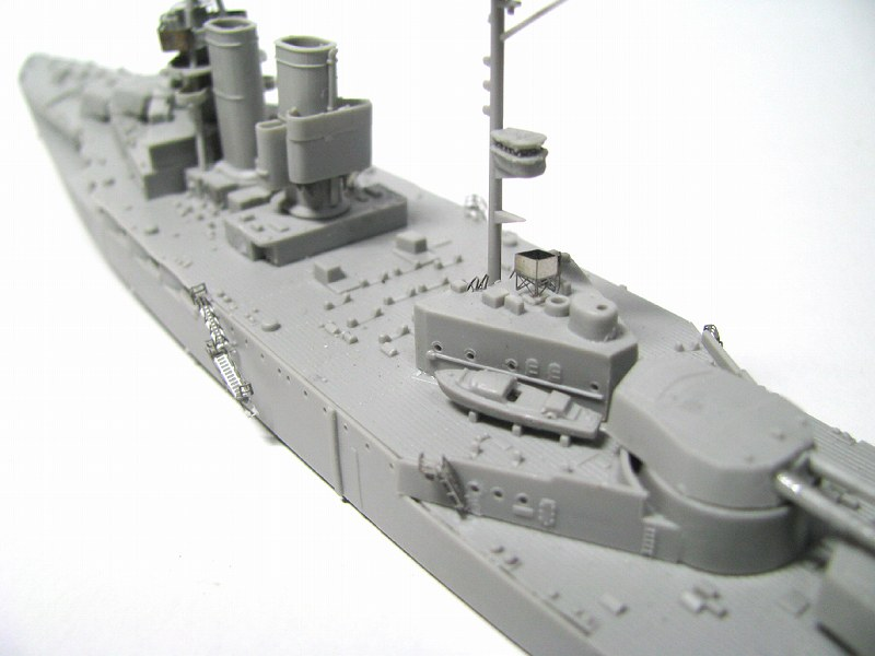 PE225 1/700 イギリス海軍 戦艦 クイーン・エリザベス 1918用 エッチングパーツ