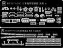 PE237-2 1/700 日本海軍 駆逐艦 島風 就役時用 エッチングパーツ