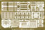 PE324 1/700 WWII アメリカ海軍 戦艦 ウェスト・ヴァージニア 1945用 エッチングパーツ