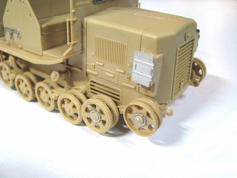 PE3510 1/35 日本陸軍 九八式4t牽引車 シケ用 エッチングパーツ