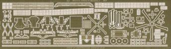 PE35166 1/350 イギリス海軍 45型駆逐艦(AF社)用 エッチングパーツ