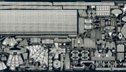 PE37 1/700 現用 ロシア海軍 巡洋艦/駆逐艦用 エッチングパーツ