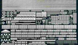 PE39 1/700 アメリカ海軍 空母 レキシントン級用 エッチングパーツ
