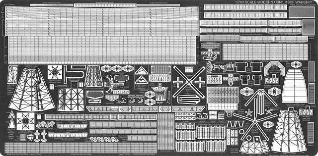 PE40 1/700 現用 アメリカ海軍 艦船/海上自衛隊 自衛艦用 エッチングパーツ