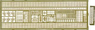 PE52 1/700 WWII アメリカ海軍 駆逐艦用 エッチングパーツ1