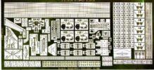 PE723 1/700 イギリス海軍 戦艦 ネルソン級(T社)用 エッチングパーツ